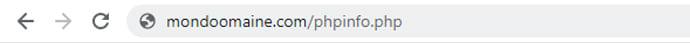 vérifier les informations PHP