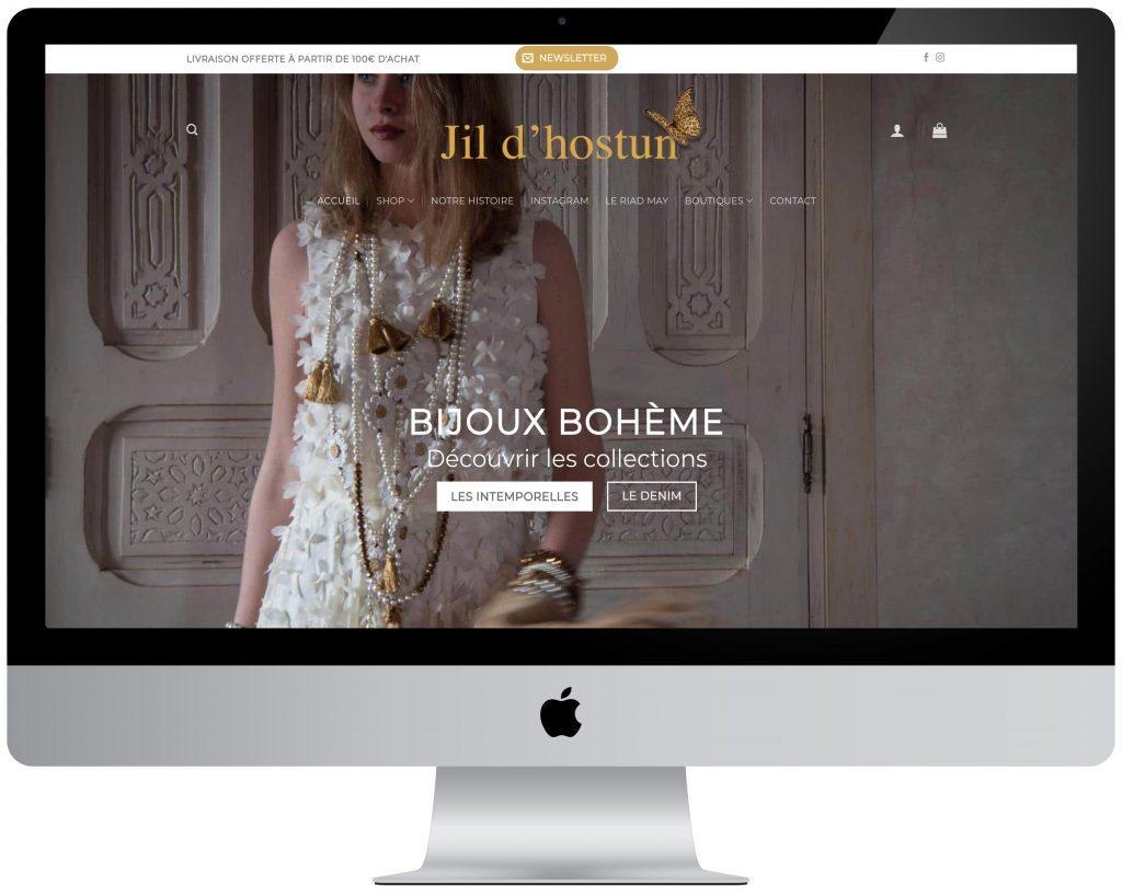 webmaster wordpress creation site bijouterie