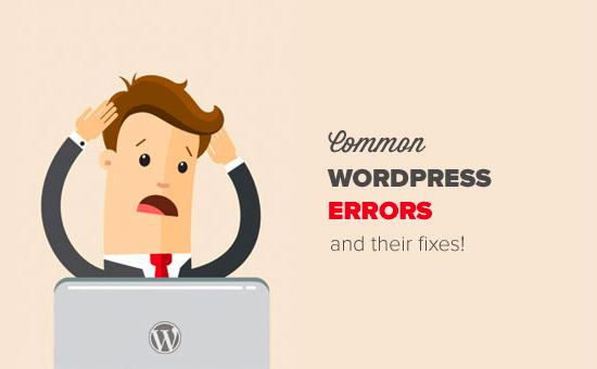 les erreurs wordpress les plus courantes et comment les corriger