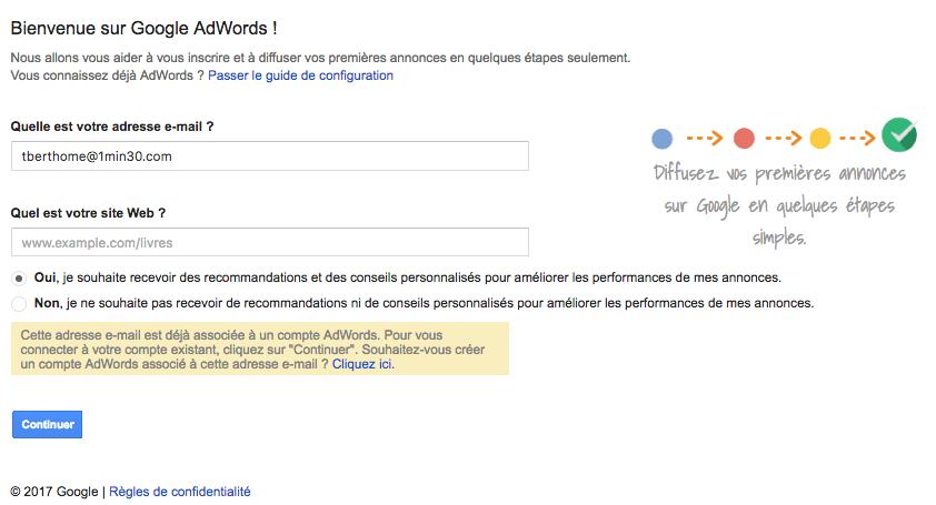 conseils internes dune strategie google adwords
