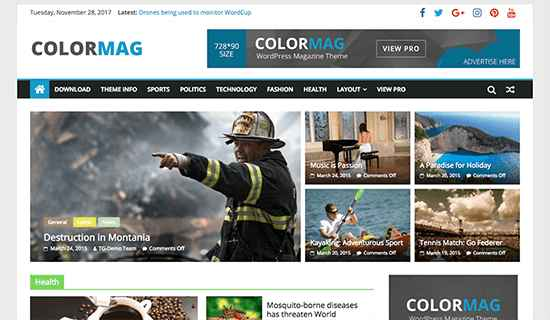 ColorMag Free WordPress Themes