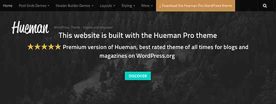 Hueman Gratuit WordPress Themes