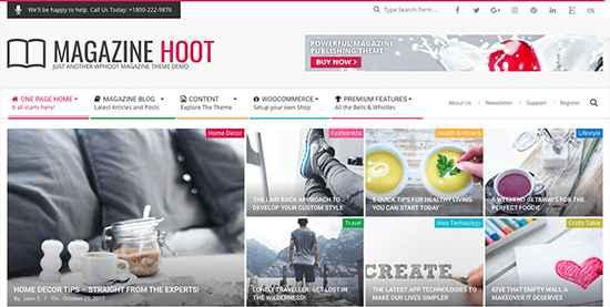 Magazine Hoot Free WordPress Themes