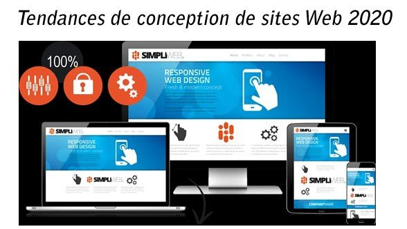 Tendances de conception de sites Web