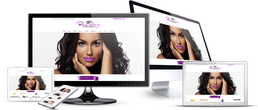 Webmaster Paris Creation site web de beautee
