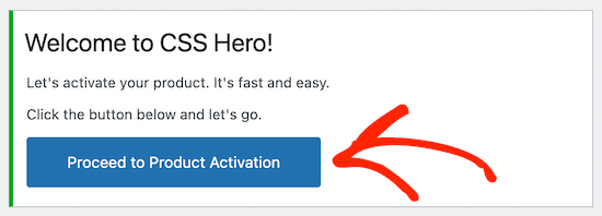 Activer CSS Hero