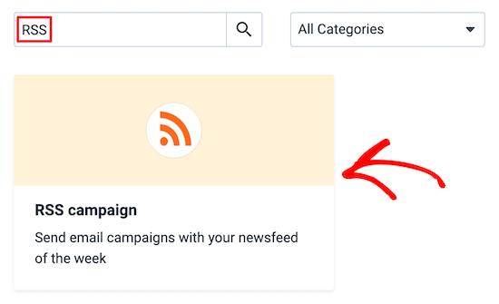 Ajouter l'intégration RSS