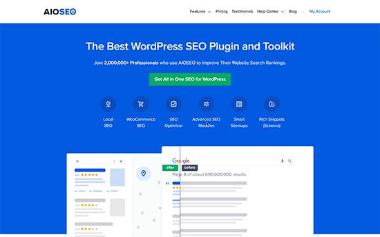 SEO tout-en-un pour WordPress