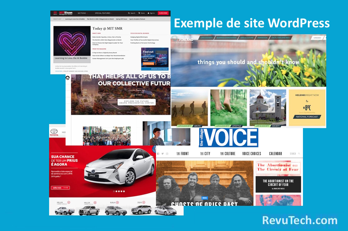 blogs avances avec wordpress
