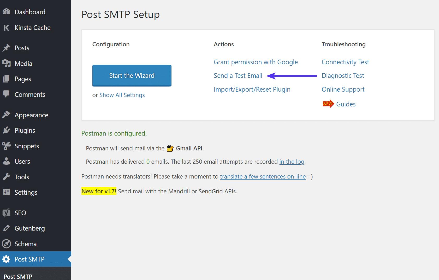 comment resoudre wordpress na pas pu envoyer le mail