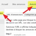 comment verifier si un domaine est bloque par google adsense