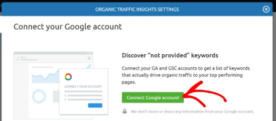 Connecter un compte Google