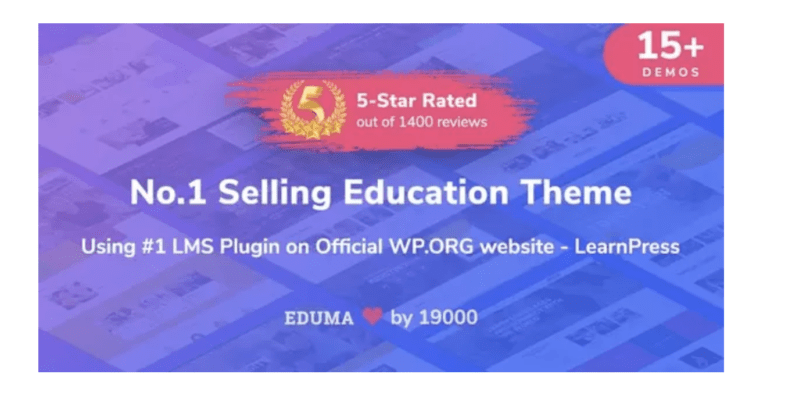 eduma education a theme wordpress premium n pour lms en
