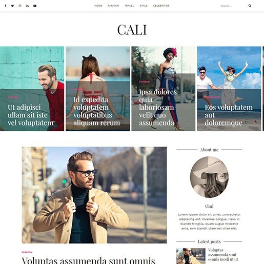 free-wordpress-blog-theme-cali
