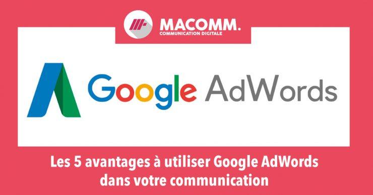importance de la gestion de google adwords