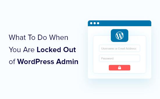 locked out of wp admin og