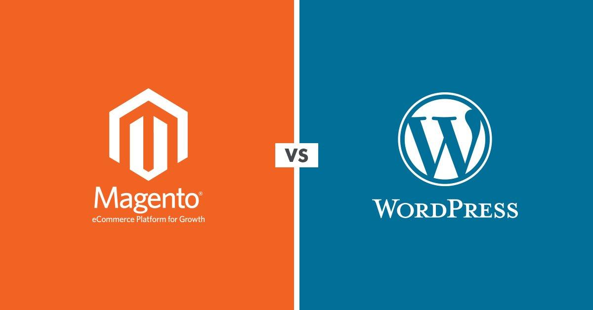 magento contre wordpress quelle est la meilleure plateforme