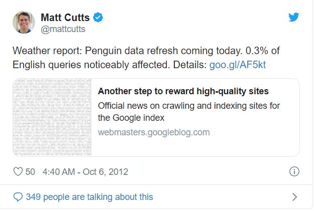 mise a jour de google penguin details et conseils de recuperation