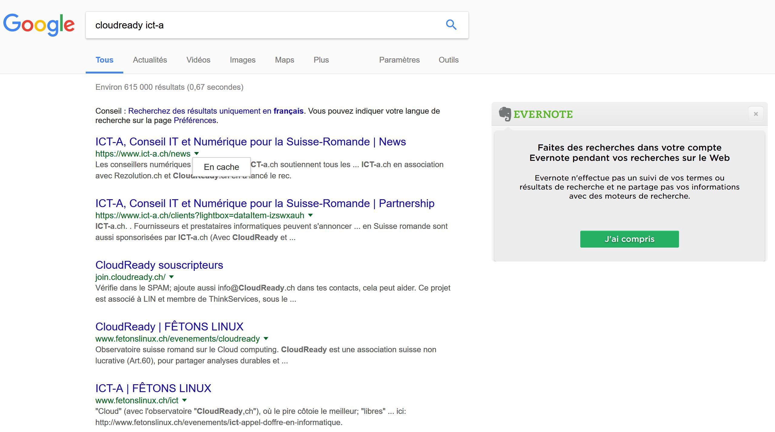 pages mises en cache google comment afficher des trucs et astuces