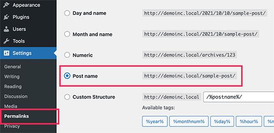 Mettre en place des permaliens dans WordPress