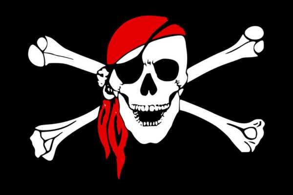 pirate, crossbones, skull