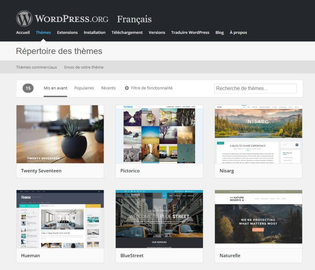 que dois je choisir pour les themes wordpress premium sur les themes gratuits