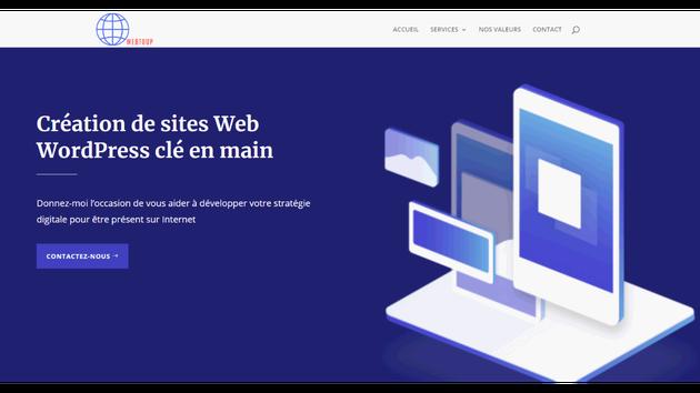 renforcez votre presence sur le web avec le developpement de sites wordpress