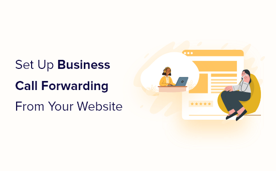 setup call forwarding from your website og
