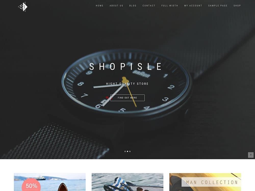 shopisle-theme-WooCommerce