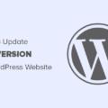 update php version og