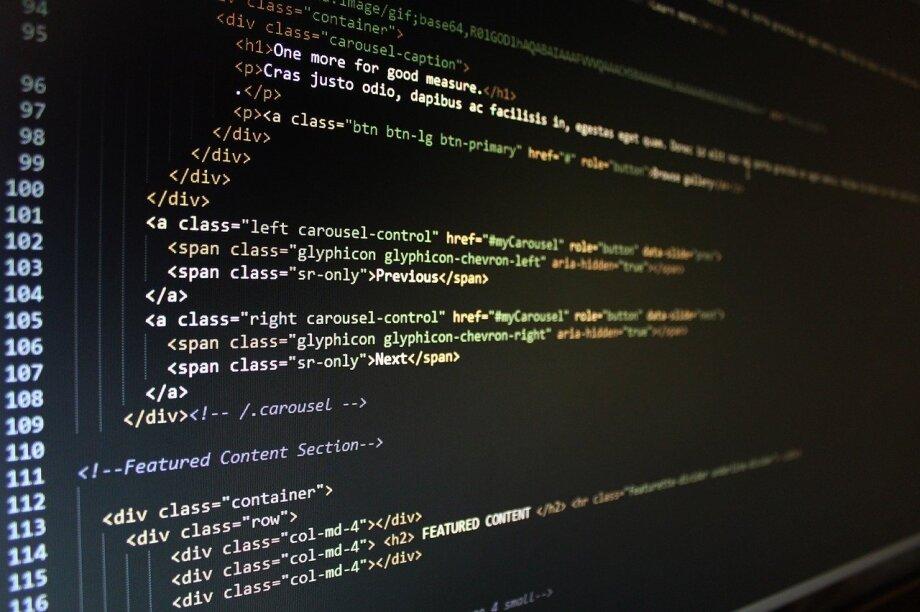 website, code, html