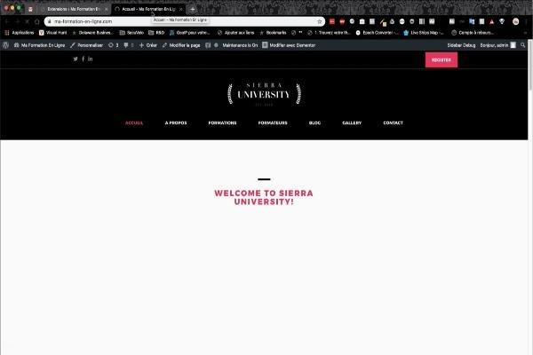 le site fonctionne sans aucun problème